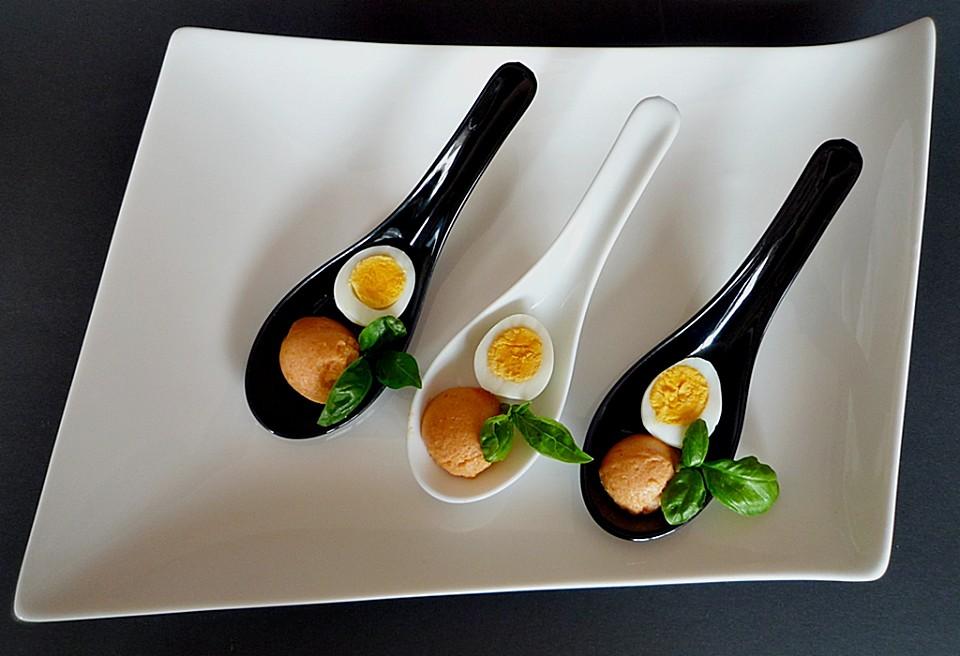 Wachtelei Mit Tomatenmousse (Rezept Mit Bild) Von Ars_Vivendi