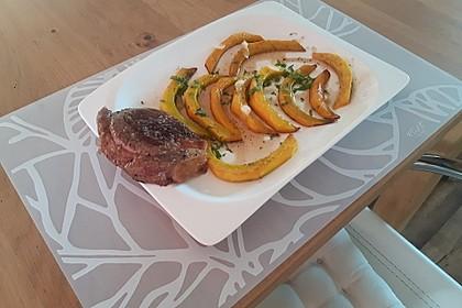 Kürbis-Minz-Salat 11
