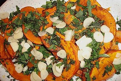 Kürbis-Minz-Salat 9