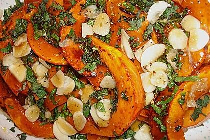 Kürbis-Minz-Salat 3