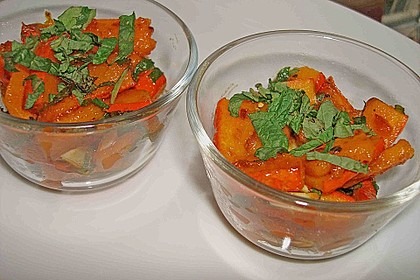 Kürbis-Minz-Salat 4