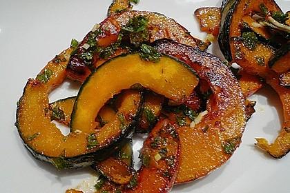 Kürbis-Minz-Salat 5