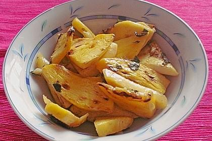 Kürbis-Minz-Salat 16