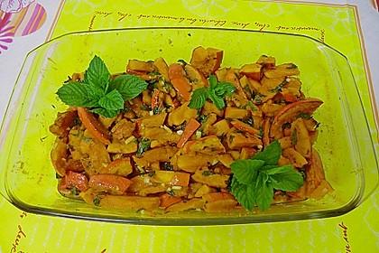 Kürbis-Minz-Salat 12