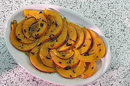 Kürbis-Minz-Salat 10