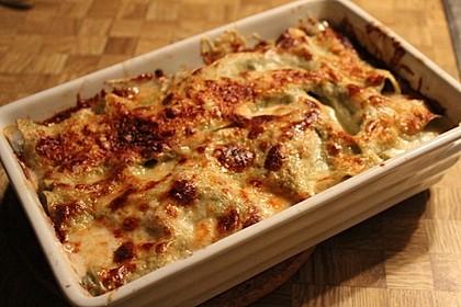 Lasagne mit Kürbis (Bild)