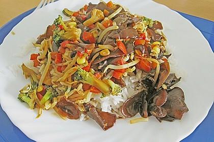Vegetarisches Chop Suey alla Exuna 1