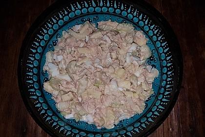 Thunfischsalat mit Äpfeln und Stangensellerie 8