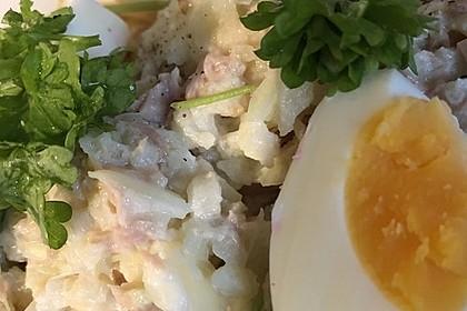 Thunfischsalat mit Äpfeln und Stangensellerie 3