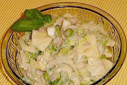 Thunfischsalat mit Äpfeln und Stangensellerie 4