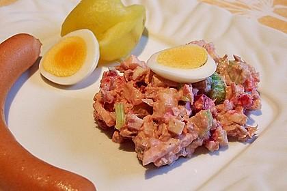 Thunfischsalat mit Äpfeln und Stangensellerie 6