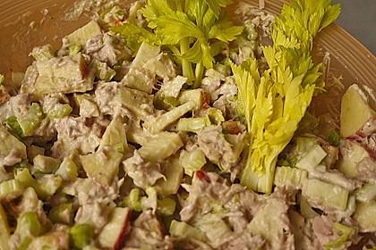 Thunfischsalat mit Äpfeln und Stangensellerie 13