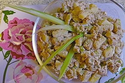 Thunfischsalat mit Äpfeln und Stangensellerie 9