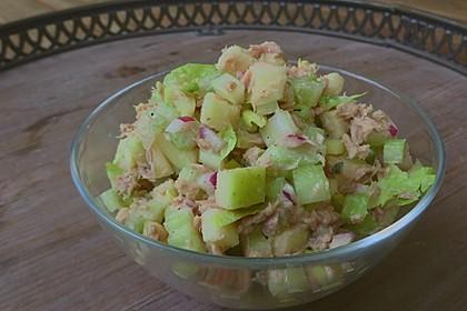 Thunfischsalat mit Äpfeln und Stangensellerie 5