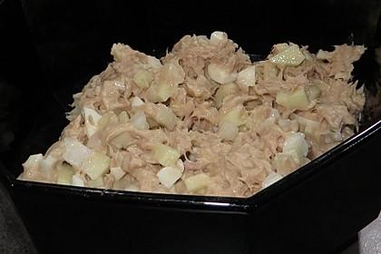 Thunfischsalat mit Äpfeln und Stangensellerie 7