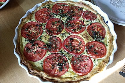 Tomaten-Schafskäse-Quiche 7