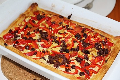 Tomaten-Schafskäse-Quiche