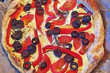 Tomaten-Schafskäse-Quiche 3
