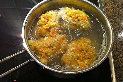 Gemüsenockerl mit Kräutersauce 15