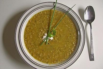 Grünkern - Gemüse - Suppe
