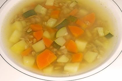 Grünkern - Gemüse - Suppe 2