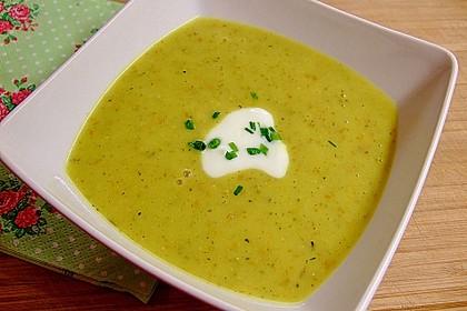 Grünkern - Gemüse - Suppe 1