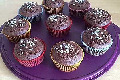 Schoko - Toffifee - Muffins 7