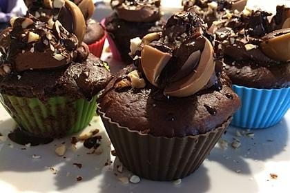 Schoko - Toffifee - Muffins 2
