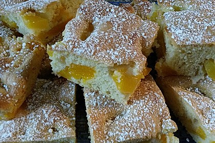 Fruchtiger Mandarinen - Kirsch - Kuchen