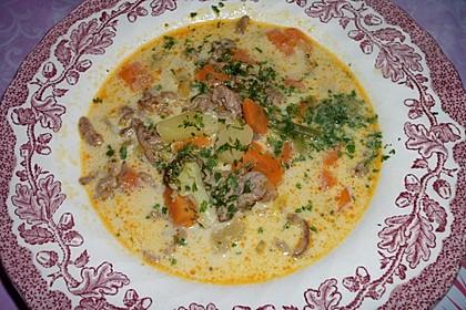 Claudis Kartoffel - Gemüse - Käsesuppe 12