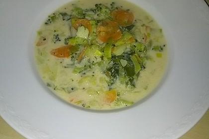 Claudis Kartoffel - Gemüse - Käsesuppe 10