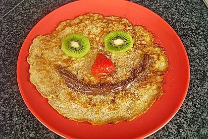 Haferflocken - Pfannkuchen 6