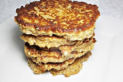 Haferflocken - Pfannkuchen