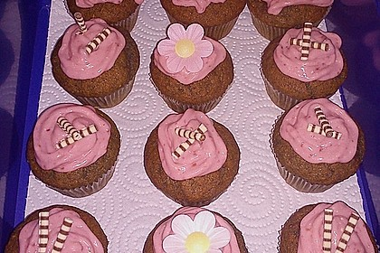 Himbeer Cupcakes 17