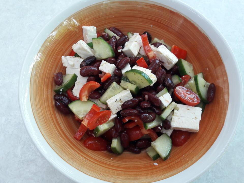 kidneybohnen feta salat rezept mit bild von veggi89. Black Bedroom Furniture Sets. Home Design Ideas
