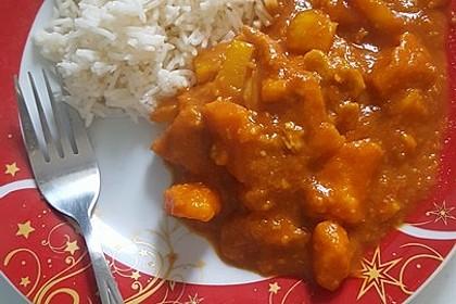 Hähnchencurry mit Süßkartoffeln 33