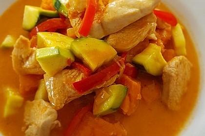 Hähnchencurry mit Süßkartoffeln 10