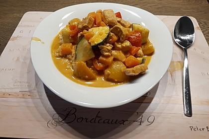 Hähnchencurry mit Süßkartoffeln 11