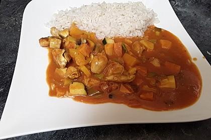 Hähnchencurry mit Süßkartoffeln 15