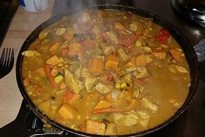 Hähnchencurry mit Süßkartoffeln 29