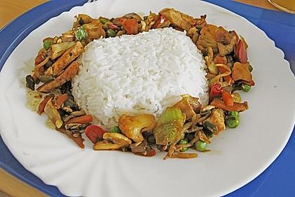Wok - Gemüse zu Reis 0