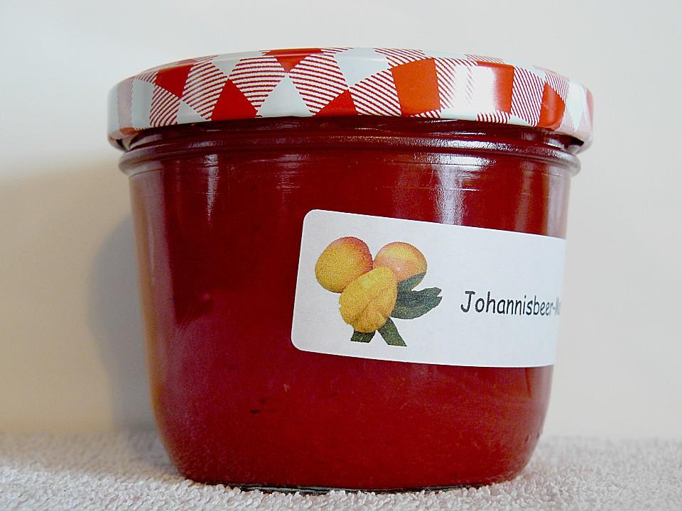 johannisbeer mango konfit re rezept mit bild. Black Bedroom Furniture Sets. Home Design Ideas