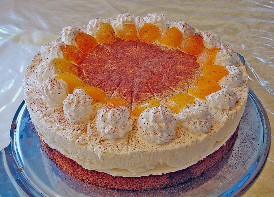 Aprikosen amaretto kuchen