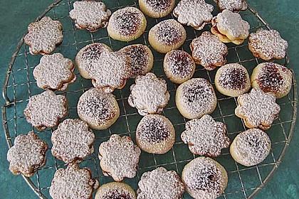 Kartoffelmürbteighörnchen (süß) 1