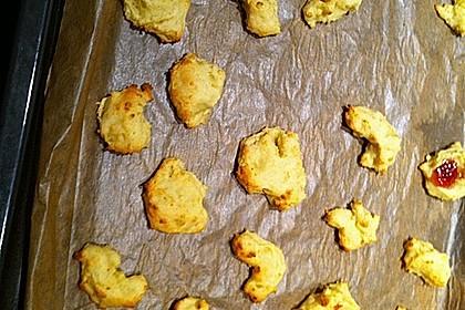 Kartoffelmürbteighörnchen (süß) 2