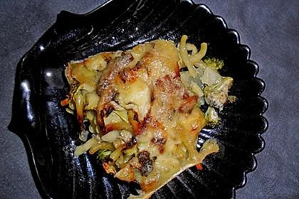 Brokkoli - Nudel - Auflauf à la Julia