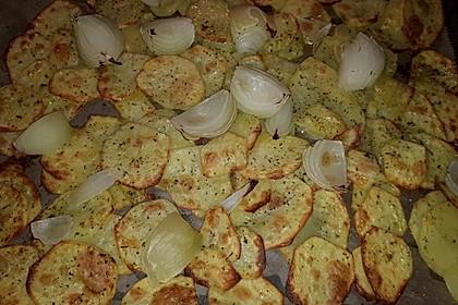 Bratkartoffeln aus dem Backofen 16