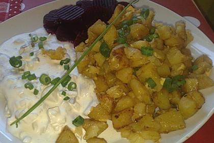 Bratkartoffeln aus dem Backofen 8