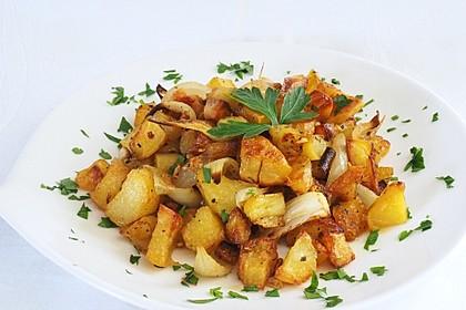 Bratkartoffeln aus dem Backofen 4