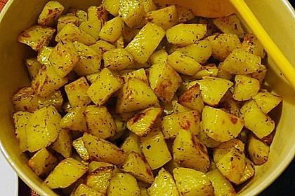 Bratkartoffeln aus dem Backofen 17